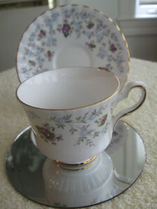 EXQUISITE VINTAGE ROYAL STAFFORD BONE CHINA  CUP / SAUCER