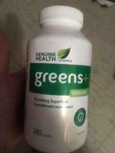 Greens + nourishing super food 360 capsules