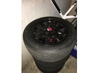 "15"" 5 x 100 VW Alloys & Tyres"