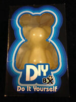 Bax Bear DIY 8in White