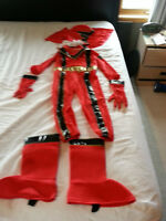 Red Power Ranger costume size small 5-6