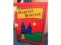 Kids story book cupboard