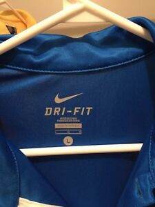 Nike Dri Fit Royal Blue Large t-shirt-  NEW Cambridge Kitchener Area image 2