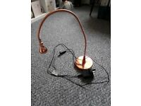 Ikea copper desk lamp