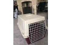 Cat travel cage