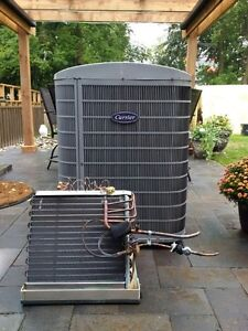 Gently used central air conditioner
