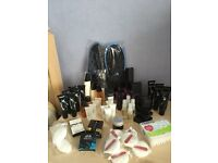 Toiletries (54 Items) + 2 Pairs Of Spa Slippers (See All Photos & Listing)