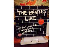 """The Beatles - Live in Hamburg - Double Vinyl 12"""" LP Record"""