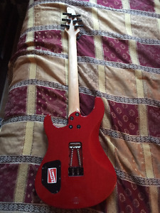 Yamaha with seymour duncan at the bridge and floyd rose