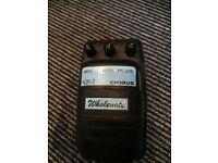Wholenote Chorus Guitar Pedal