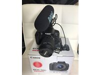 Canon 700D / T4i with Rode videomic Pro