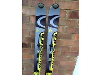 Salomon Verse 10 Pilot Skis with S710 bindings 160cm