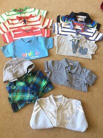 9-12 months winter bundle, shirts, vests, jumpers trousers coats baby grows