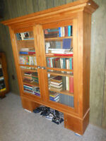 REDUCED! Antique Pine Hutch