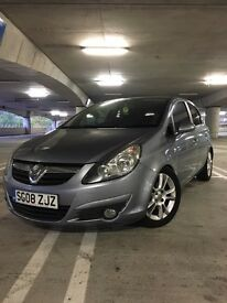 Vauxhall Corsa 1.2 2008 40,000 miles 5 door Silver / grey Alloy wheels manual modified lowered D