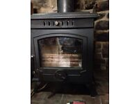 Lilyking Multi Fuel Stove With Back Boiler