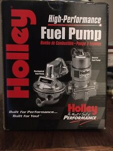 High performance Holley fuel pump Brand New!