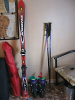 Skis and boots -going cheap!