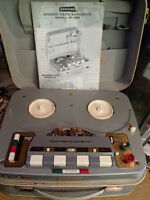 Antique Reel to Reel tape recorder KORTING MT 158S - not working