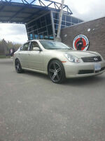 2006 G35x Aftermarket RIMS AND TIRES ONLY