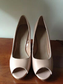 New Look Nude Wedges