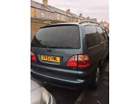 52 plate Ford Galaxy 1.9TDI bulletproof engine. PLEASE READ DESCRIPTION IN FULL!