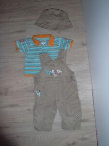 Ensemble 3 morceaux pour bébé 6-9 mois