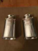 Milk Can Salt and Pepper Shakers
