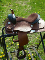 NEW  12 IN WESTERN PONY SADDLE- VERY CUTE.