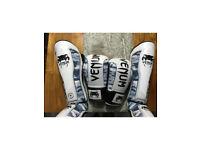 Boxing and shin gaurds