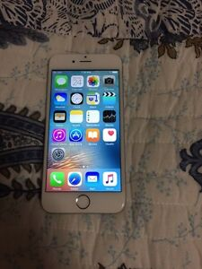 iPhone  6 white 16 gb with Roger