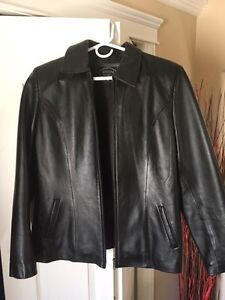 Guccini women's leather jacket