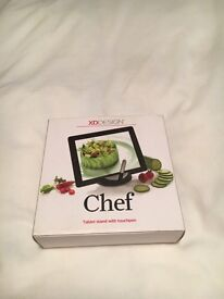 Chef tablet stand with touchpen by XD design