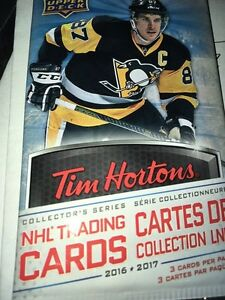 Want to get rid of your Tim Hortons 2016/17 hockey cards? Stratford Kitchener Area image 1