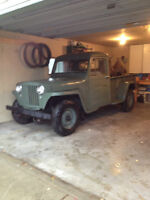 Looking for parts for Willys pickup.