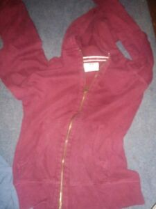 Wine coloured old navy hoodie