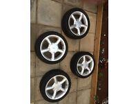 "4x100/16"" mondeo wheels"