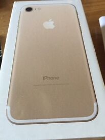 IPHONE 7 BRAND NEW GOLD O2 SEALED !!!! 32GB