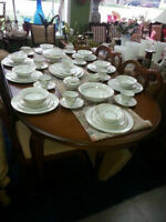 GIBBARD DINING TABLE WITH 4 CHAIRS now $ 499.99
