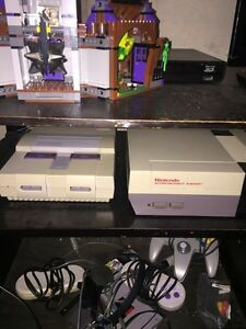 Classic Nintendo consoles/games and Xbox 360