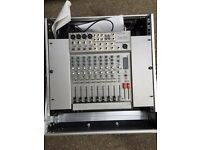 RSQ KARAOKE CD+G PLAYER & CAW BOY 8 CHANNEL MIXER IN CASE