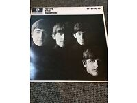 """THE BEATLES VINYL RECORD BUNDLE LP AND 7""""S RARE EXCELLENT CONDITION WITH THE BEATLES . COME TOGETHER"""