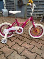 Girl bike- 14 inch wheels