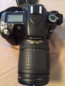 Nikon D80 with lens and extras