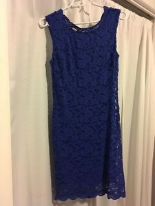 Blue lace dress $40 from Suzy Shier Kingston Kingston Area image 1