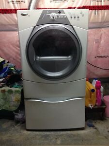 Whirlpool duet sport washer and dryer