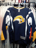 BUFFALO SABRES RBK JERSEYS. VARIOUS SIZES  NEW WITH TAGS