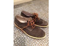 Brand new Ask The Missus suede brogues size 8