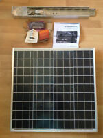Kyocera Solar Panel with Pole Mount and Solar Charger Controller