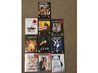 10 DVDs including brand new ones